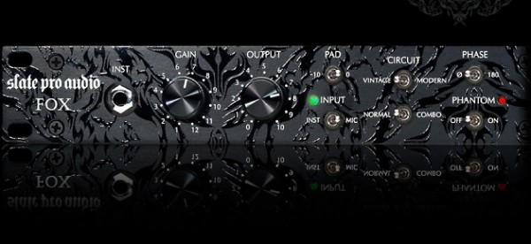 Slate Pro Audio Fox Vorverstärker-Ex Demo