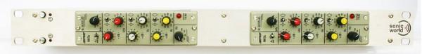 Bundle SonicWorld FR2X-MK5 Rack + 2 x Filtek/ BFE MK5 Serie Equalizer