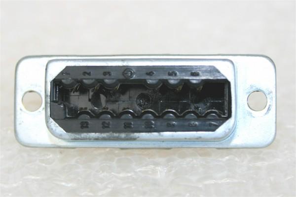 Amphenol Tuchel 13 Pol Federleiste T2707 für Siemens W295/ EMT etc gebraucht