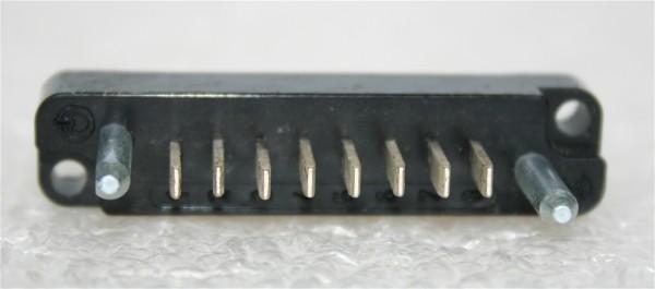 Amphenol Tuchel 8pol Steckerleiste für NTP/Eckmiller Module neu