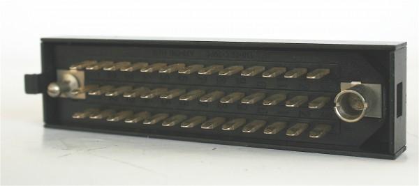 Siemens/Tyco DIN 41622 39pol Messerleiste versilbert, mit Riegelwanne aus Metall GEBRAUCHT