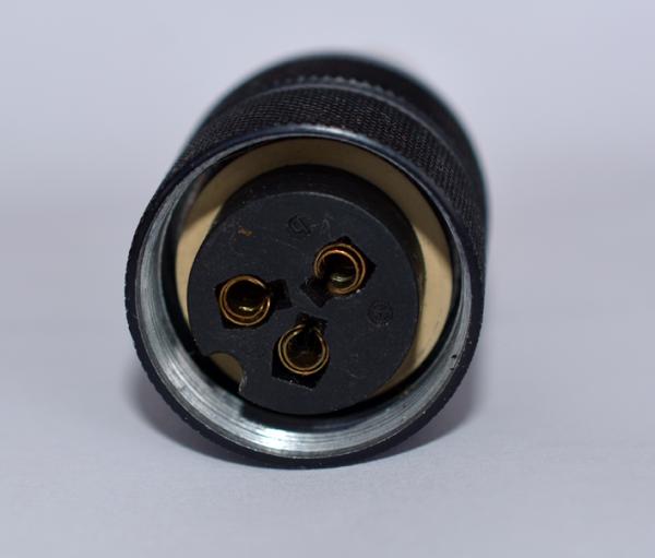 Binder 3 Pol Kabelbuchse, kompatibel mit Amphenol Tuchel T3080-002 gebraucht