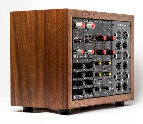SonicWorld Custom Holzrack für 2 Stück Neumann V476, 2 Stück Telefunken W695a und 2 BFE BKE4 Modulen