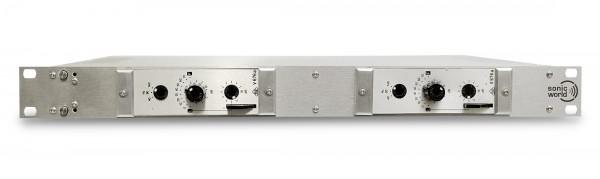 SonicWorld FR2X-V676 mit 2 überholten Telefunken V676a Vorverstärker