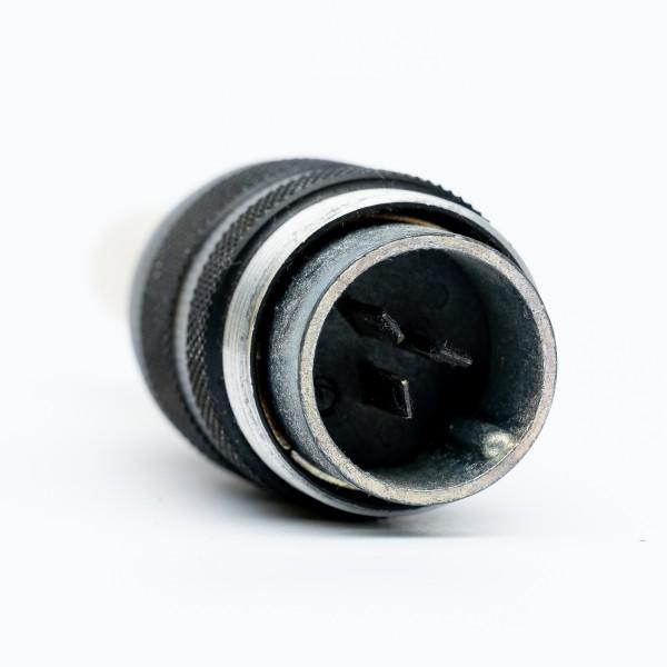 Binder 3 Pol Kabelstecker, kompatibel mit Amphenol Tuchel T3079-002 gebraucht