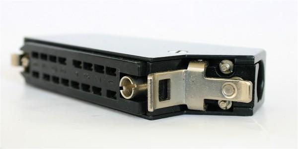 Siemens DIN 41622 16pol Federleiste mit Metallhaube und Kodierstifte NEU