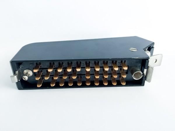 Siemens/ Tyco oder Amphenol Tuchel DIN 41622 30pol Messerleiste