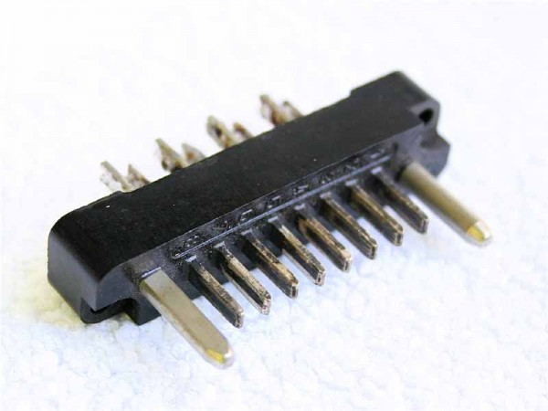 Amphenol Tuchel 8 Pol Steckerleiste T2000 für NTP/Eckmiller Module GEBRAUCHT