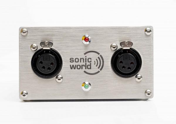 SonicWorld KNT24-800PH Linear aufgebautes 24 Volt Netzteil mit 800 mA Leistung und zusätzlichem 48 Volt Ausgang