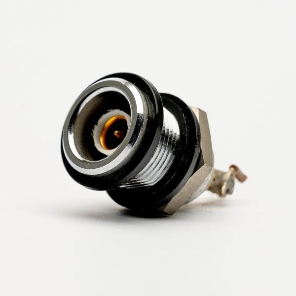 Lemo Triax Einbaubuchse, schwarze Markierungs-/ Isolationsringe, gebraucht
