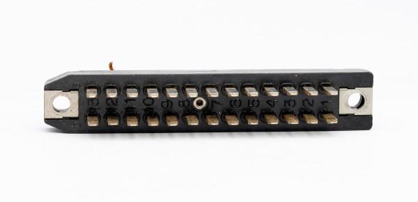 Siemens/ Tyco oder Amphenol Tuchel DIN 41618, 26 Pol Messerleiste GEBRAUCHT