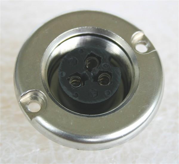 Amphenol Tuchel 3 Pol Einbaubuchse T3082-000 NEU