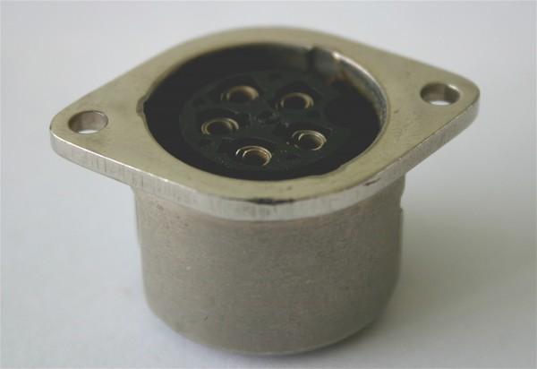 Amphenol Tuchel 5 Pol Einbaubuchse T3015-000 gebraucht