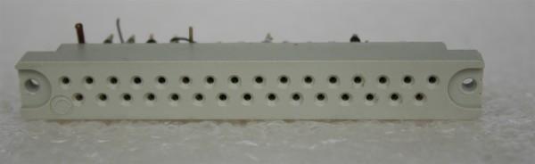 31 polige Federleiste für Telefunken/ TAB Module gebraucht