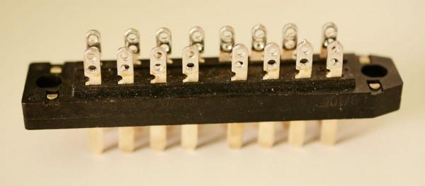 Siemens DIN 41622 16pol Messerleiste NEU