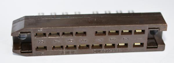 Siemens/ Tyco oder Amphenol Tuchel DIN 41622, 16pol Buchsenleiste NEU
